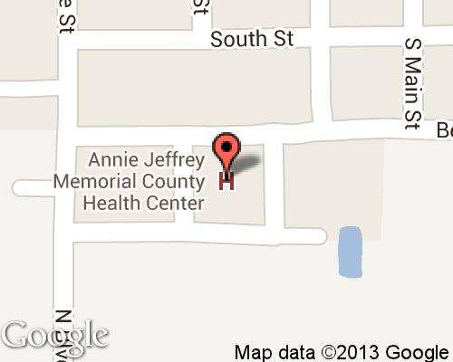 Annie Jeffrey Memorial County Health Center