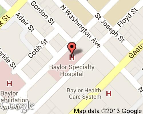 Baylor Specialty Hospital Hospitals In Dallas
