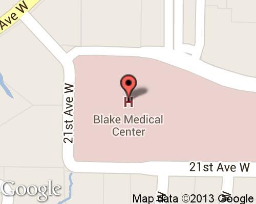 Blake medical center for Bert fish hospital