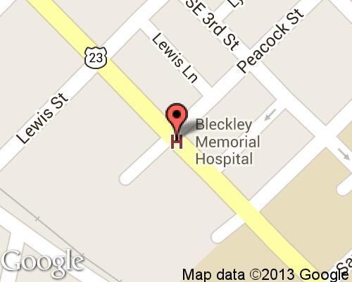 Bleckley Memorial Hospital