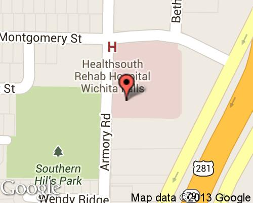 HEALTHSOUTH Rehabilitation Hospital-Wichita Falls ... on healthsouth facilities map, healthsouth rehab locations, healthsouth at martin memorial, healthsouth hospital locations, healthsouth las vegas location, healthsouth location in illinois, starbucks across the united states map,