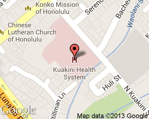 Kuakini Medical Center Hospitals In Honolulu